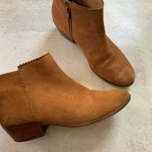 Jack Rodgers Suede Ankle Booties